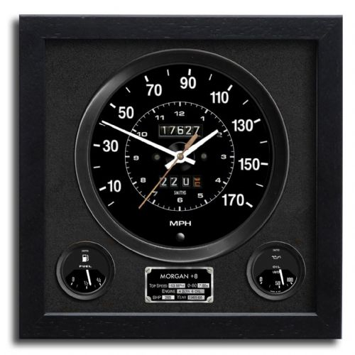 Morgan Wall Clock - Plus 8